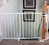 Regalo-Top-Of-Stairs-Expandable-Metal-Gate-With-Mounting-Kit