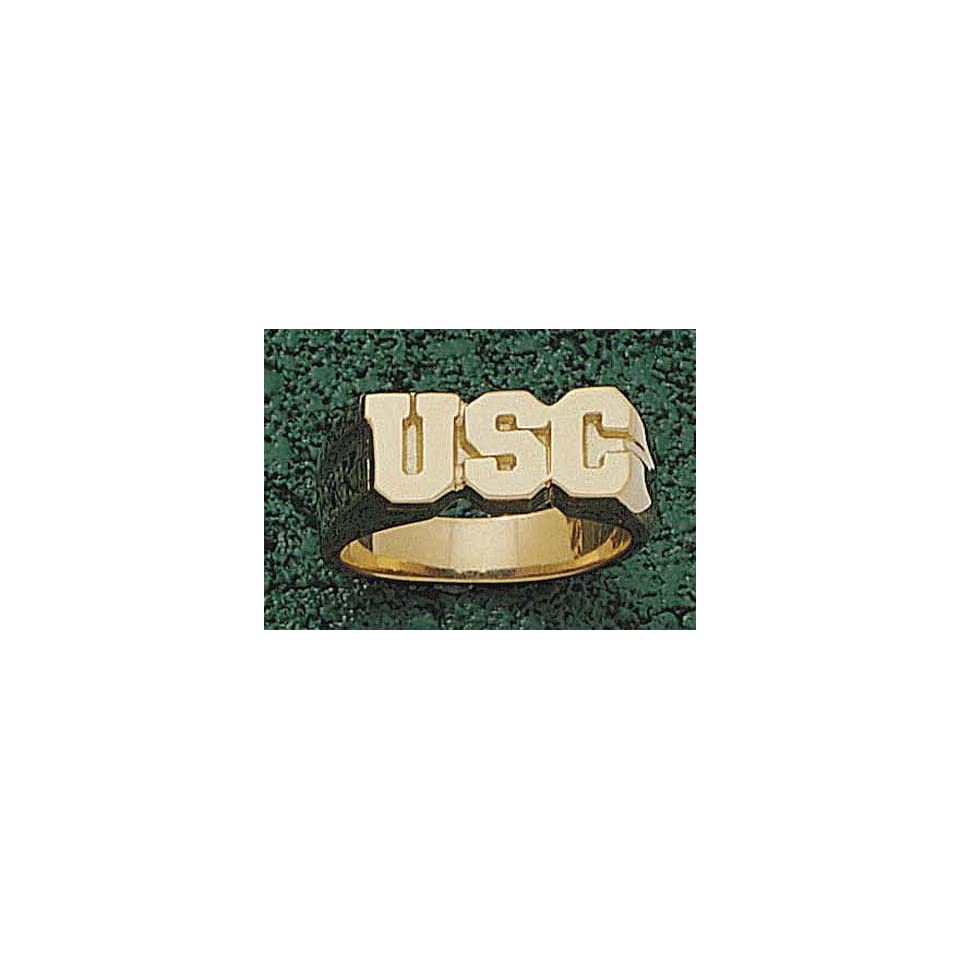 South Carolina Gamecocks USC Mens Ring Size 10   10KT Gold Jewelry