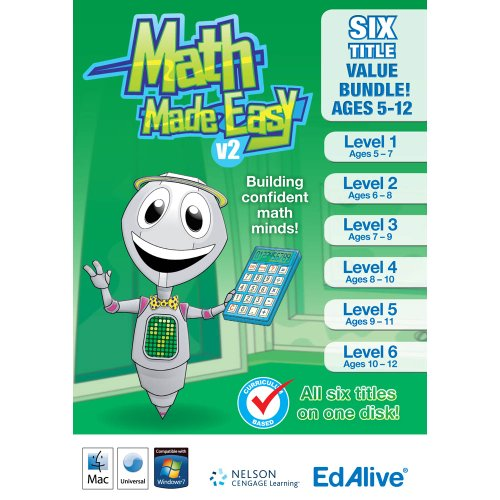 Math Made Easy V2 Bundle Mac [Download]