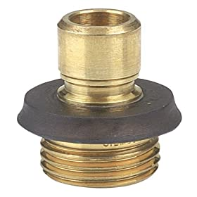 Gilmour Brass Male Hose End Connector 09QCM