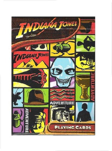 "Indiana Jones Playing Cards ""Adventure Deck"""