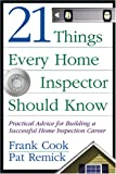 img - for 21 Things Every Home Inspector Should Know book / textbook / text book