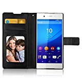 iLee Premium Leather Wallet Flip Case Cover For Sony Xperia Z4 (12 Month Warranty)
