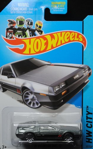 2014 Hot Wheels '81 Delorean DMC-12 33/250 HW City - 1