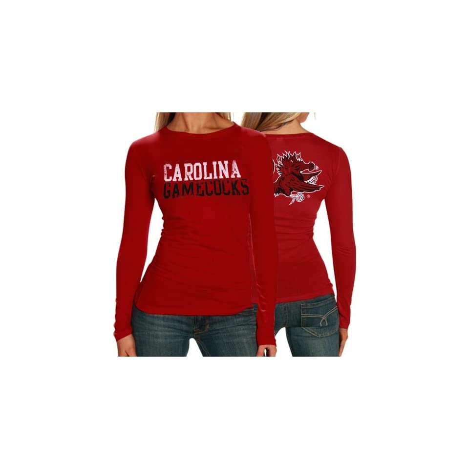 South Carolina Gamecocks Ladies Garnet Literality Long Sleeve T shirt