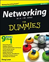 Networking All-in-One For Dummies, 5th Edition Front Cover