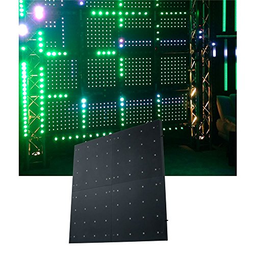 American Dj Flash Kling Panel 64 Rgb Led Dmx Light - New