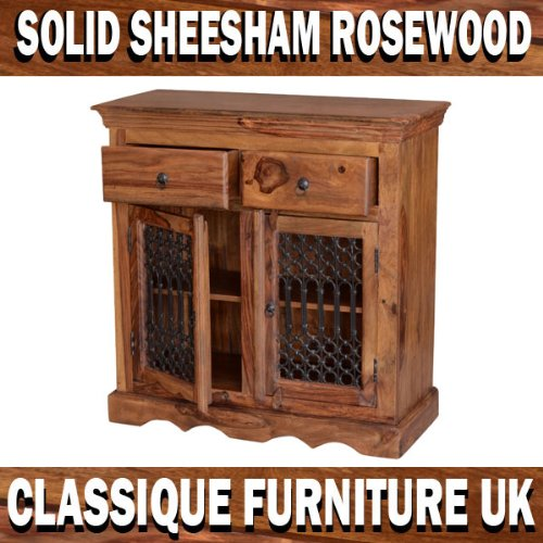 Jali Indian Handmade Sheesham Rosewood Small Sideboard