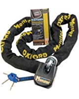 OF802 - Oxford Monster Chain & Lock 1.5m