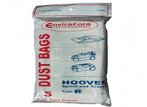 Hoover Type R Canister Sprint Vacuum Paper Bags 5 Pack # 112SW (Hoover Bags Type R compare prices)