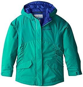 Columbia Little Girls' Razzmadazzle Jacket, Mayan Green, XX-Small