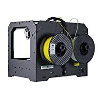 Ecubmaker Fantasy 3d Printer, FDM High Precision Desktop with Dual Extruder, Support ABS and PLA Filament