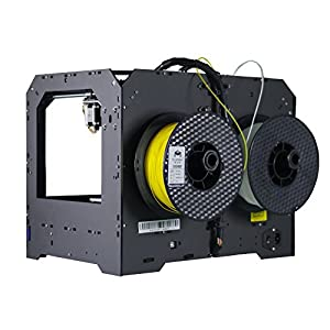 Ecubmaker Fantasy 3d Printer, FDM High Precision Desktop with Dual Extruder, Support ABS and PLA Filament