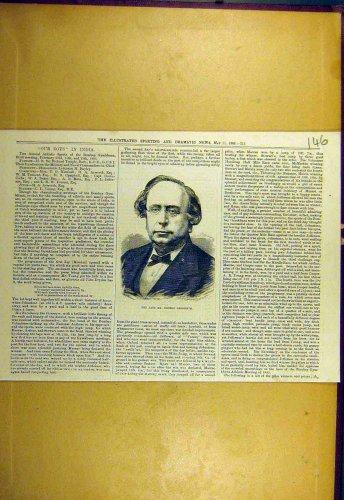1880 Portrait George-Grossmith Sporting Dramatic News