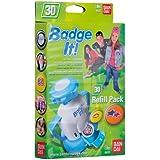 Bandai - 8025 - Loisirs Créatifs - Recharge Badge It - Initials Designs - Modèle aléatoire