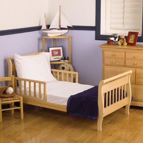 Nojo 3 Piece Toddler Sheet Set, White front-905100
