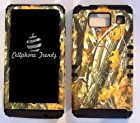 CellPhone Trendz Hybrid 2 in 1 Case Hard Cover Faceplate Skin Black Silicone and Camo Mossy Hunter Big Branch Oak Snap Protector for Motorola Droid Razr Maxx HD XT926M by Verizon (Not for Droid Razr Maxx) With Cellphone Trendz Glow in Dark Silicone Wrist Band