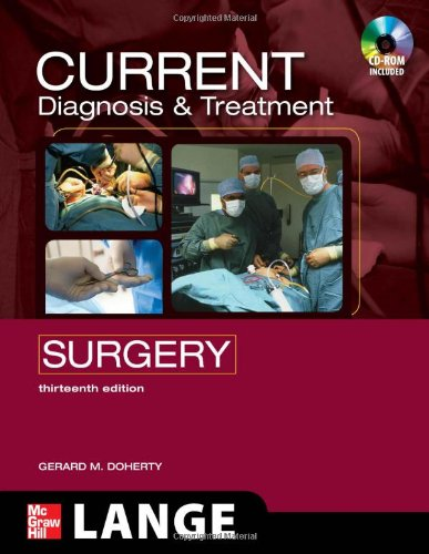 Current Diagnosis and Treatment Surgery 13th Edition (Lange Current Series)