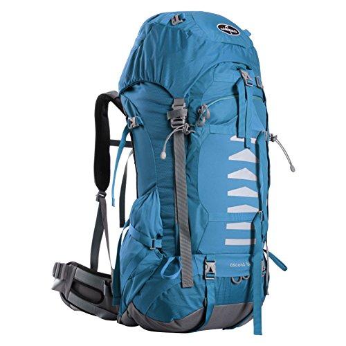 Professional sac d'escalade en plein air / grande capacité sac de randonnée imperméable / sac de Voyage de l'épaule-bleu 60L