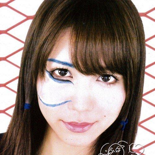 AKB48 ミニサイン色紙【河西智美】MJ