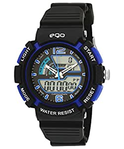 Ego by Maxima Analog-Digital Multi-Color Dial Unisex Watch - E-33220PPAN