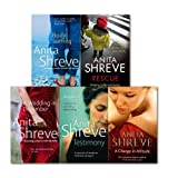 Anita Shreve Anita Shreve Collection 5 Books Set, (Change in Altitude, Rescue, Body Surfing, A Wedding in December, Testimony)