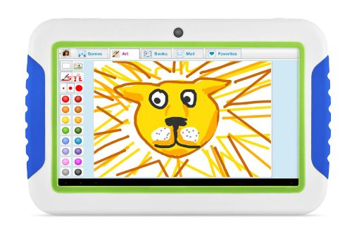 Ematic Ftabcb 7-Inch 4Gb Fun Tab Touchscreen Kids Tablet With Android 4.0 (Blue/Green) front-555622