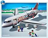 Jouet : Playmobil - 4310 - L'Aéroport - - L'Avion : Commandant + Passagers