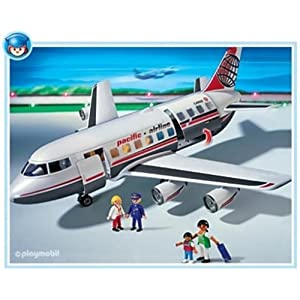 Amazon.com: Playmobil Jet Plane: Toys & Games