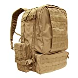 Condor 3 Day Assault Pack (Tan, 3038-Cubic Inch)