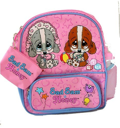 Sad Sam and Honey Kids Size Backpack School Bag - 1