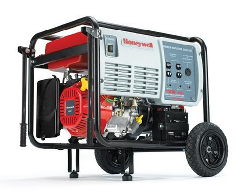 Images for Honeywell HW7500E 9375 Watt 15 HP 420cc OHV Portable Gas Powered Home Generator With Electric Start