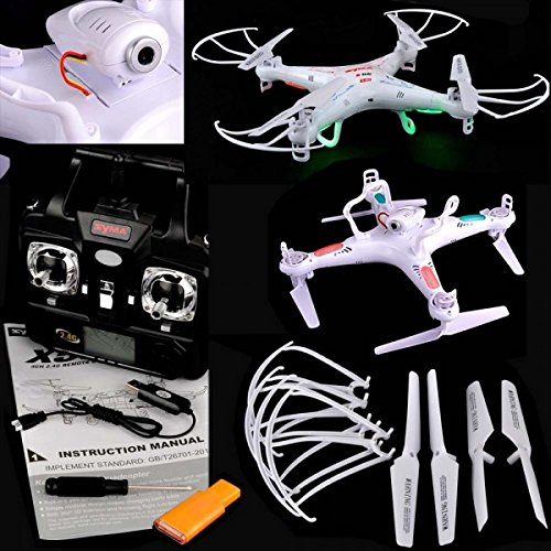 Syma X5C-1 2.4G 6-Axis 4CH Upgraded Version Explorers Gyro RC Quadcopter Camera Remote Control Toys Parts