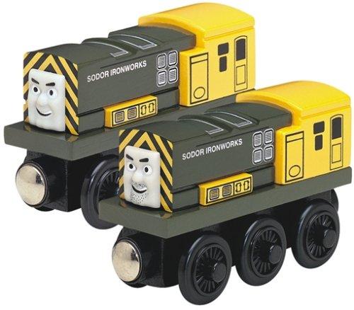 ラーニングカーブ きかんしゃトーマス 木製レール ハリーとバート 99176