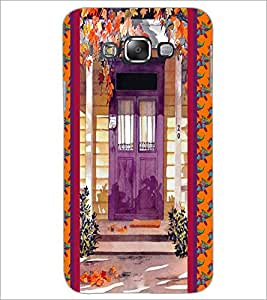 PrintDhaba House D-3748 Back Case Cover for SAMSUNG GALAXY E7 (Multi-Coloured)