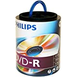 Philips DVD-R 16x 4.7GB 100PK Spindle