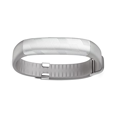 UP2 Light Grey Hex by Jawbone - Wellness Fitness Bracelet Activity Tracker and Sleep