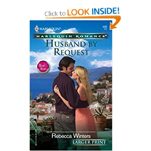 Husband Request (Harlequin Romance)