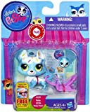 Littlest Pet Shop # 3235 Electric Blue Husky & # 3236 Husky Friend Sweeter Best Friends