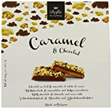 Dolfin Salted Butter Caramels in Milk Chocolate with Almonds and Cocoa Nibs 200 g