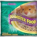 F.M. Brown's Brown's Naturals, 5-Pound, Hamster/Gerbil Food