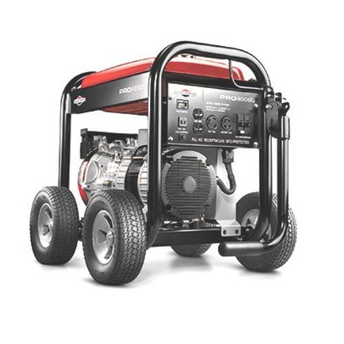 Briggs & Stratton Pro Series 30335 5,000 Watt 7.5 HP OHV Gas Powered Portable Generator With Wheel Kit