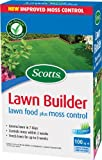 Scotts Lawn Builder 100 sq m Lawn Food Plus Moss Control Carton