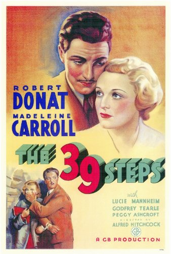 The 39 Steps - Movie Poster - 11 x 17