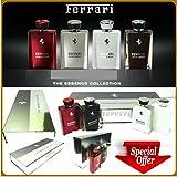 Ferrari the Essence Collection 4 Bottles Gift Set Edp 3.3oz (See Description)