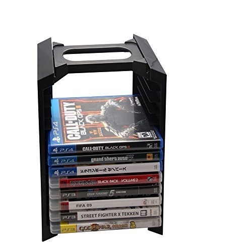 multifunction-game-disc-and-console-storage-stand-tower-for-playstation-ps4