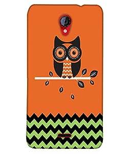 Fuson Pattern Owl Back Case Cover for MICROMAX UNITE 2 A106 - D3893