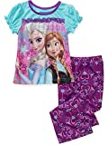Disney Frozen Anna and Elsa Pajama Set, Toddler Sizes 24M-5T