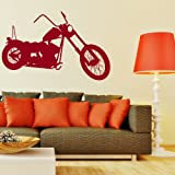 Harley -Vinyl Wall Transfer / Interior Wall Art / Stylish Home Decor / Mural MO1