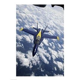 U.S. Navy Blue Angels F-18 Hornet Poster Print (18 x 24)